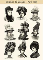 Collection de Chapeaux