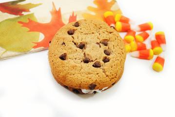 Fall Festive Cookie Sandwich Dessert