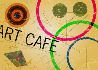 Menu template for coffee shop or cafe, free copy space