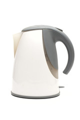 kettle on the white background