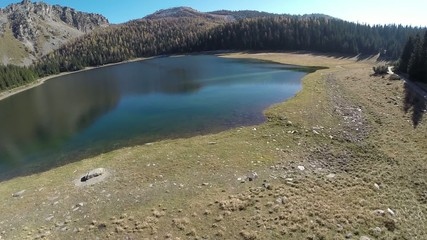 Lago Palù - Valmalenco - Italy - volo radente