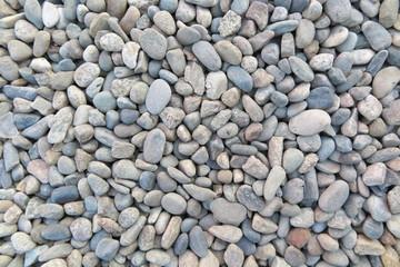 Sea gravel pebbles