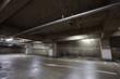 Empty underground car parking space at modern building - 72366206