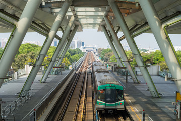 the mass rapid transit system in Kaohsiung