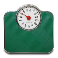 pesapersone verde in dondo bianco a 50 kg.