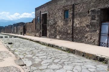Ruins of ancient city Pompeii