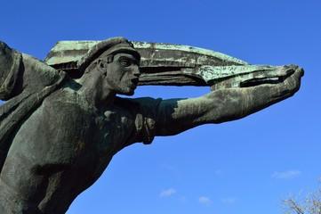 Russian statue