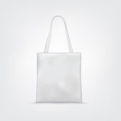 Blank White Tote Bag