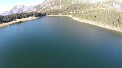 Valmalenco (IT) - sorvolo lago Palù