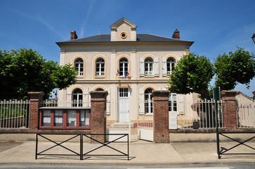 France, the city hall of Amenucourt