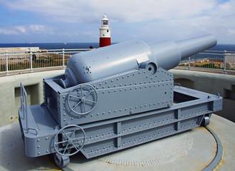canon de 100 tonnes de Gibraltar