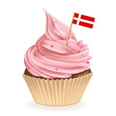 Danish Cupcake
