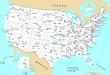 USA general map - 72372026