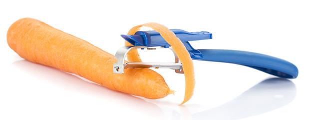 Peeling Carrot