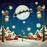 Country rural at Christmas - 72372608