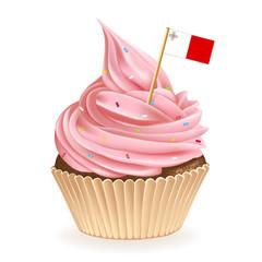 Maltese Cupcake