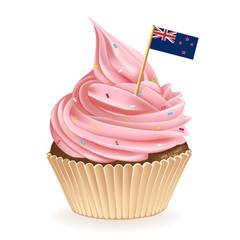 New Zealand Cupcake
