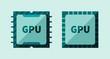 GPU microchip - 72373263