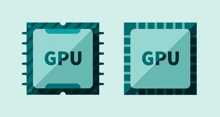 GPU microchip