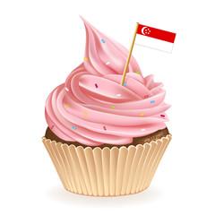 Singapore Cupcake