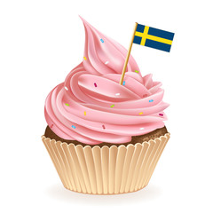 Swedish Cupcake