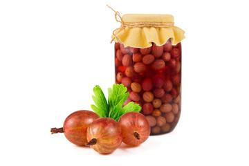 Gooseberry compote