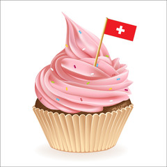 Swiss Cupcake
