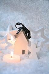 Weihnachtskarte - Christkind