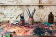 Artist's Brushes - 72375673