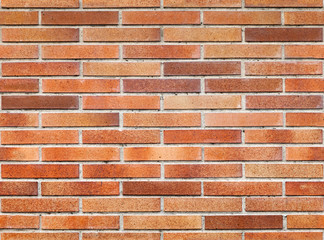 Seamless background texture of red brick wall