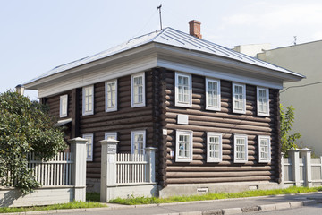 Дом в котором жил Сталин, отбывая ссылку в городе Вологде