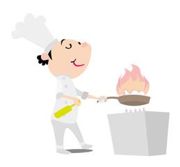 シェフ 料理