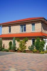 Moderner Wohnhausneubau, Landhausstil