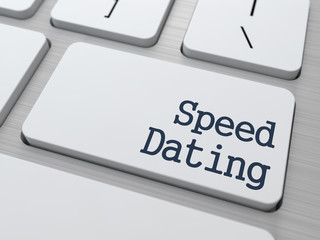 Speed Dating Button on Computer Keyboard.