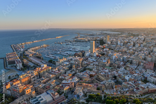 canvas print picture Alicante