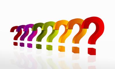 Questions concept illustration