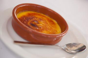 Dessert - creme brulee