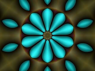 Fond d'écran, kaléidoscope.