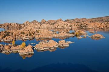 Watson Lake Prescott Arizona in Fall