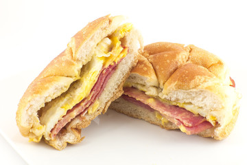 Taylor Ham Breakfast Sandwich