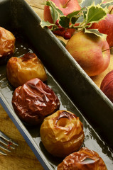 Baked apples Mele al forno Pieczone jabłka Expo Milano 2015