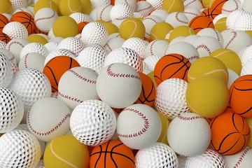 Different Sports Balls