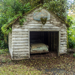A Garage in the Olympic Rain Forest