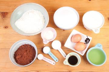 baking chocolate cake