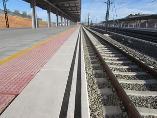 Estacion del AVE de Cuenca