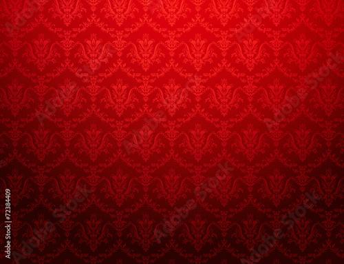 vintage red wallpaper - 72384409