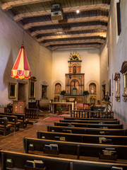 Worship Area at Mission San Diego de Alcalá