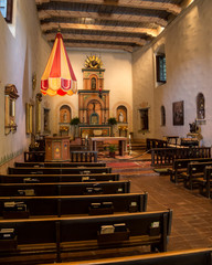 Worship Area at Mission San Diego de Alcalá