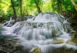 Fototapety Level 7 of Huaimaekamin waterfall