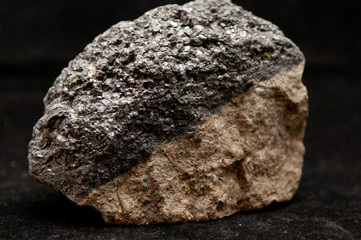magnetite mineral sample